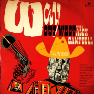 Alex Campbell - Way Out West (LP) (VG-/G-)